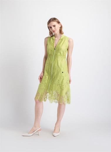 Fracomina Elbise Yeşil